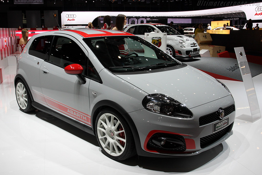 Fiat Abarth Grande Punto SuperSport    - 2009 Geneva International Motor Show