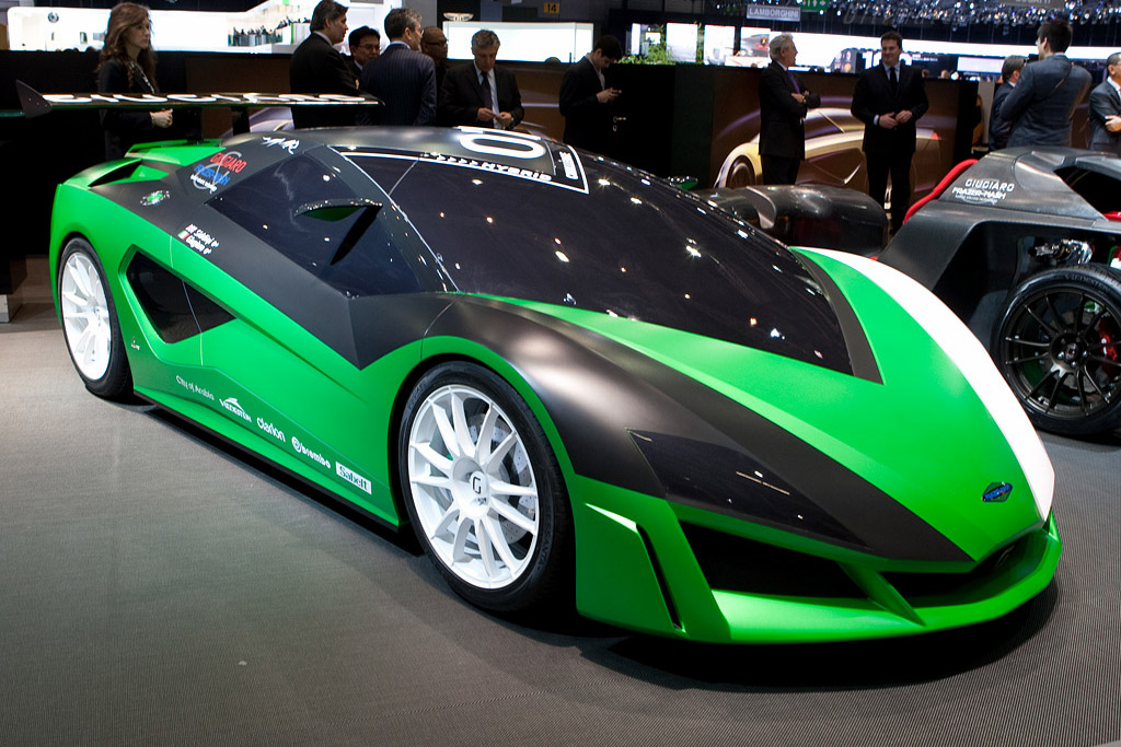 Italdesign Namir Concept    - 2009 Geneva International Motor Show
