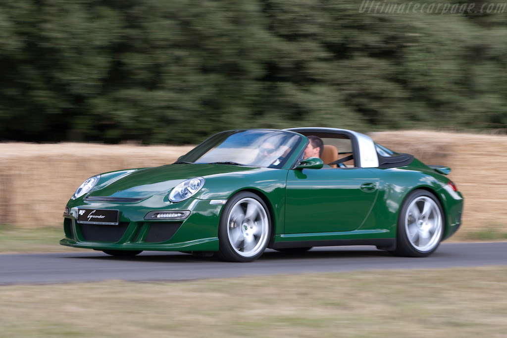RUF Greenster Concept   - 2009 Goodwood Festival of Speed