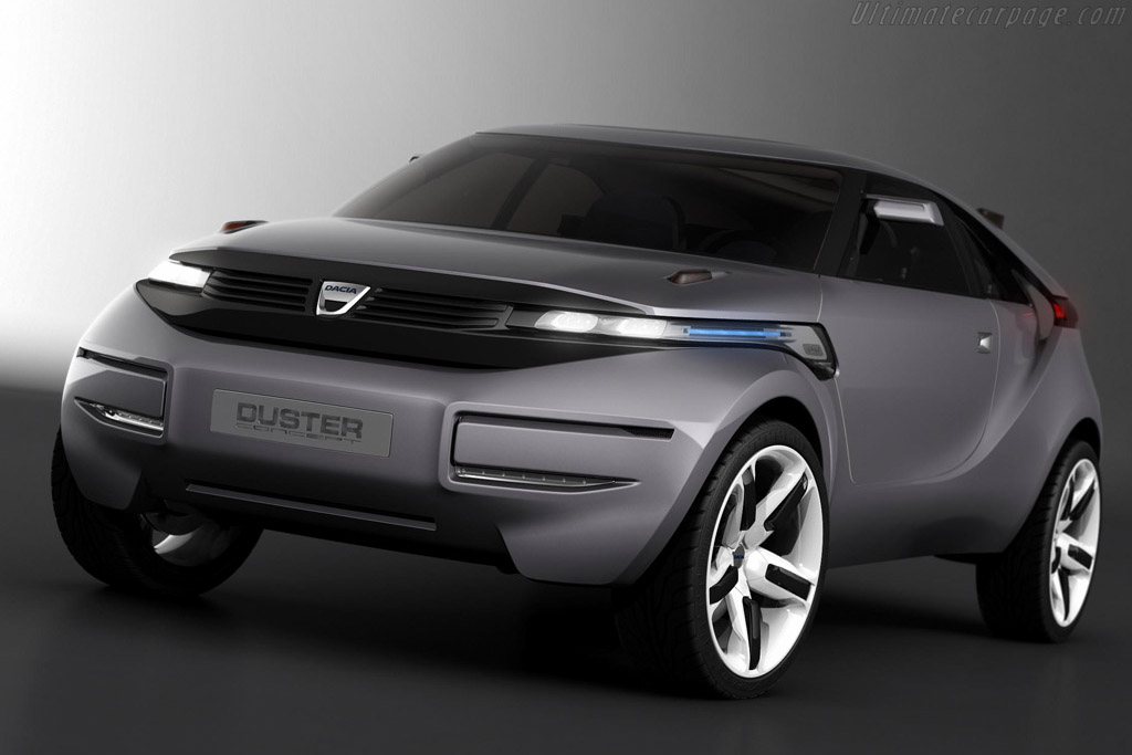 Click here to open the Dacia Duster Concept gallery
