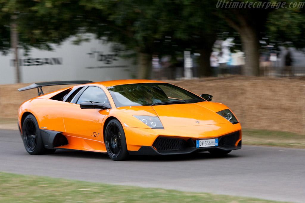 Lamborghini Murciélago LP670-4 SV    - 2009 Goodwood Festival of Speed