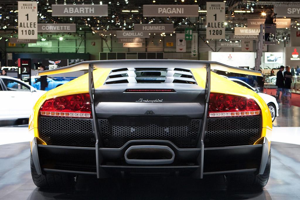 Lamborghini Murciélago LP670-4 SV    - 2009 Geneva International Motor Show