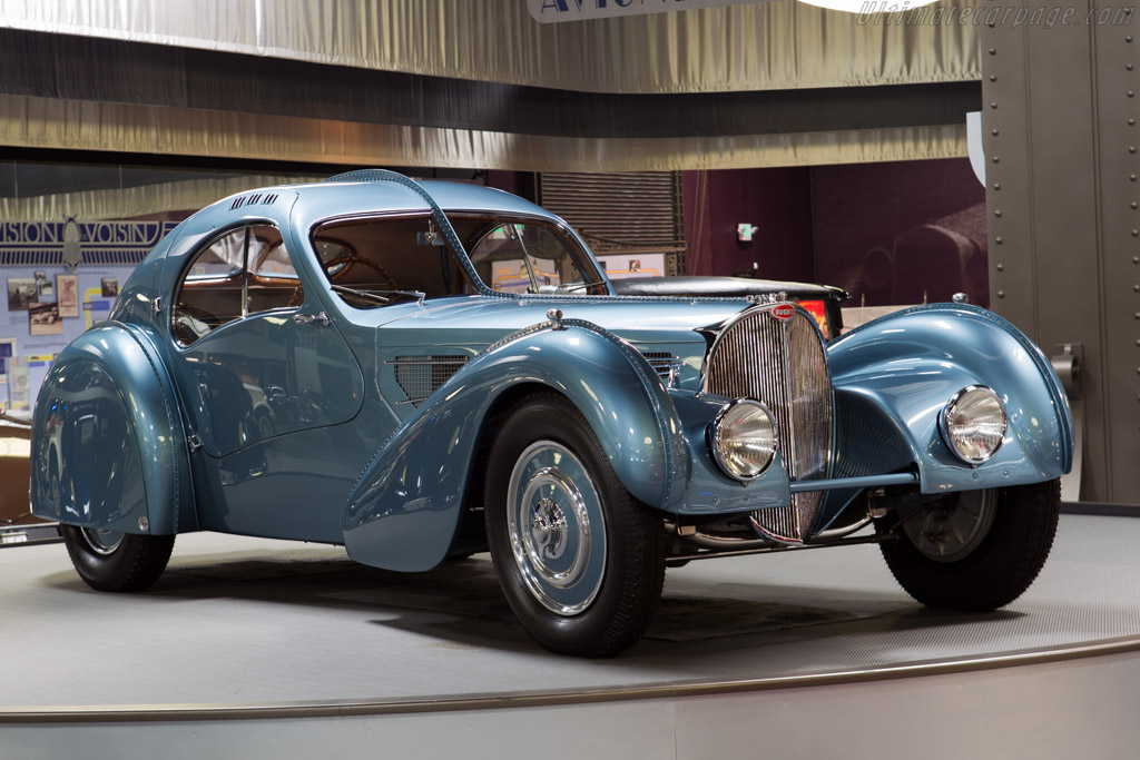 1936 1938 Bugatti Type 57 Sc Atlantic Coupe Images Specifications And Information