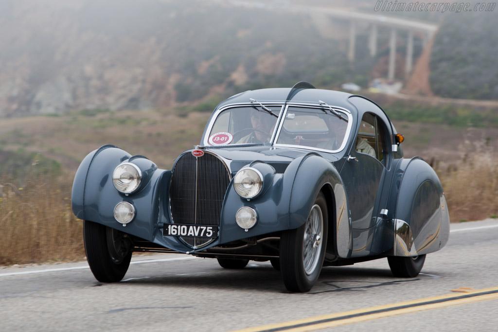 1936 1938 Bugatti Type 57 Sc Atlantic Coupe Chassis 57473 Ultimatecarpage Com