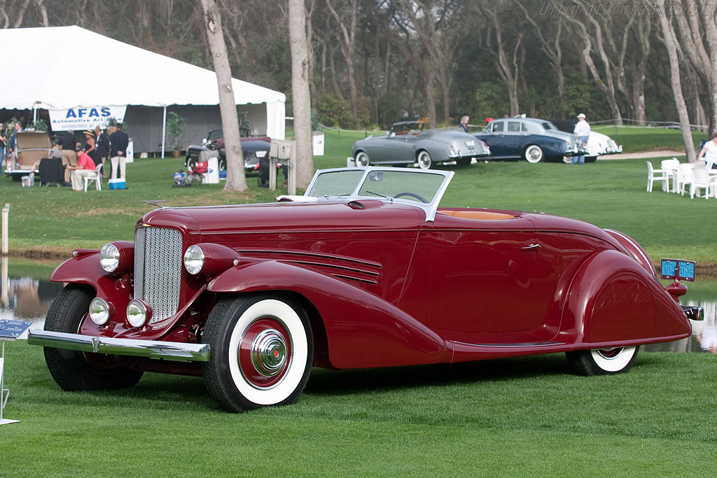 Click here to open the Duesenberg SJ Bohman & Schwartz Convertible Coupe gallery
