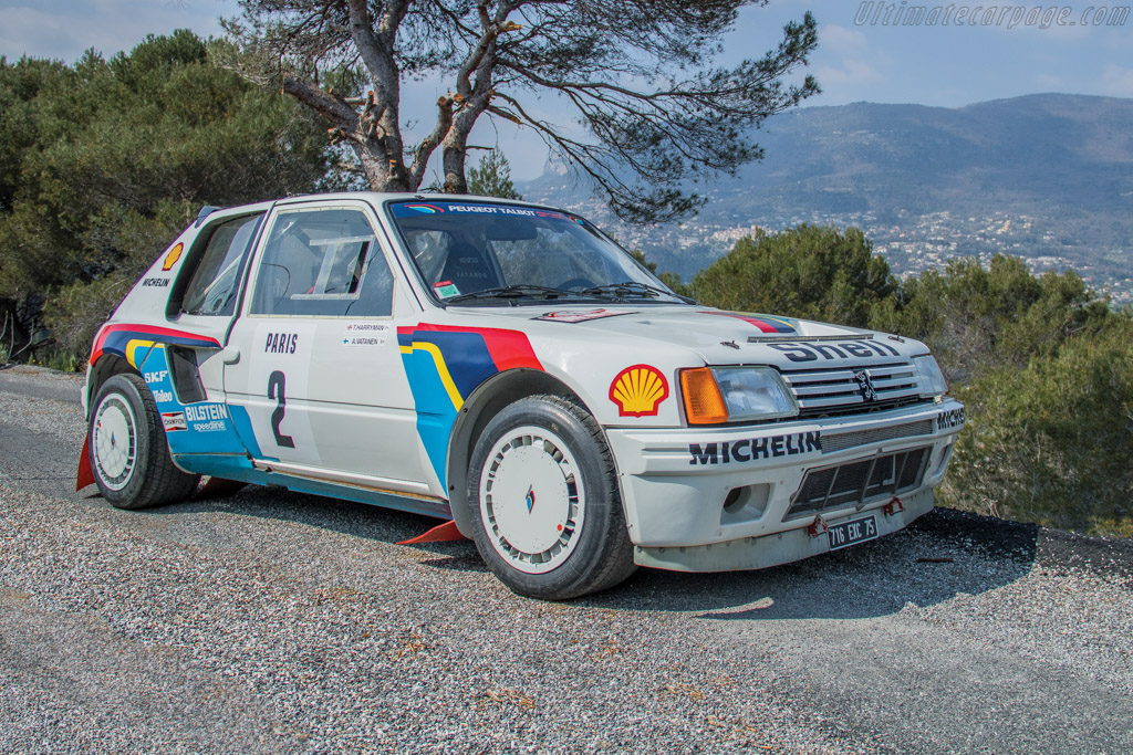 1984 1986 Peugeot 205 T16 Group B Images Specifications And Information