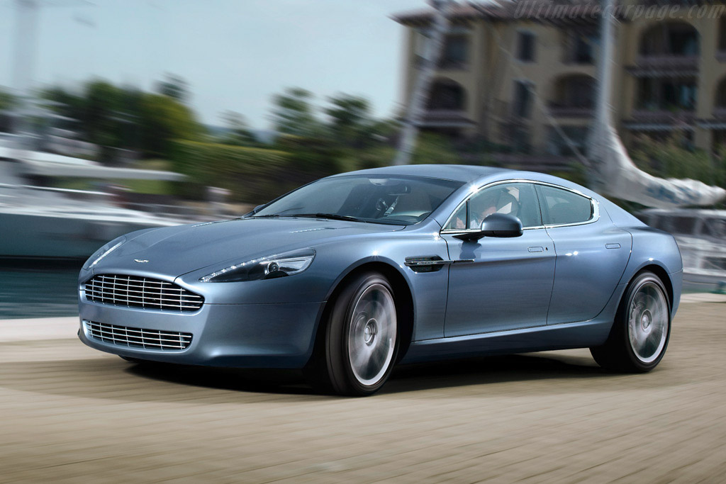 Click here to open the Aston Martin Rapide gallery