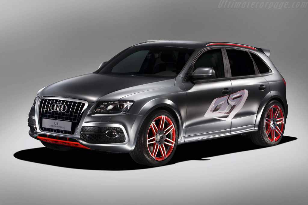 Click here to open the Audi Q5 Custom Concept gallery