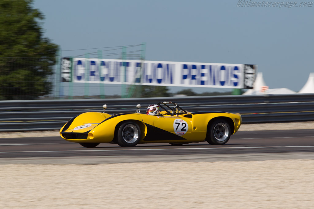 Lola T70 Mk2 Spyder Chevrolet - Chassis: SL71/29  - 2014 Grand Prix de l'Age d'Or
