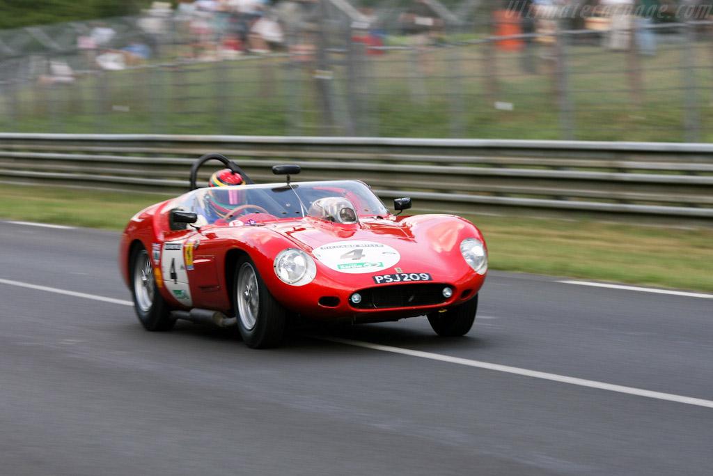 Ferrari 246 S Dino Fantuzzi High Tail Spyder Chassis