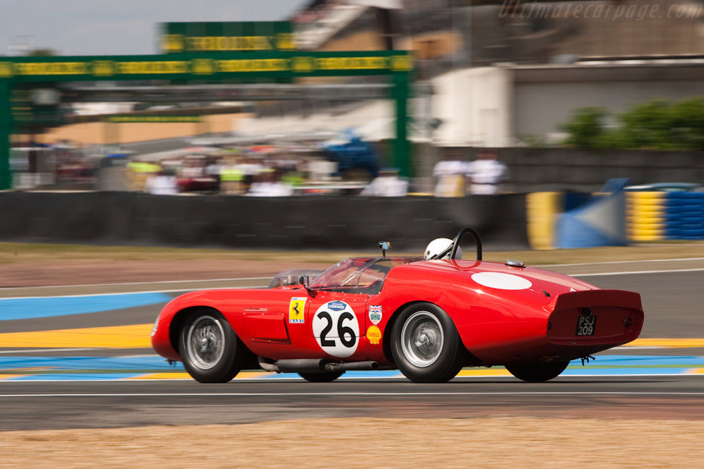 Ferrari 246 S Dino Fantuzzi 'High-Tail' Spyder - Chassis: 0784   - 2009 24 Hours of Le Mans