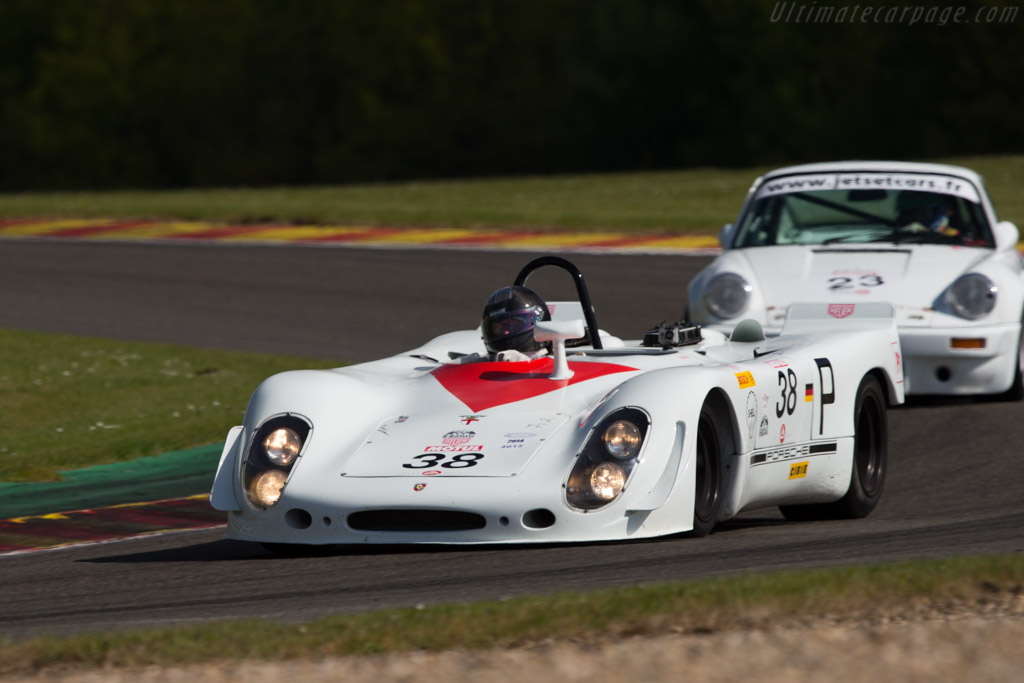 Porsche 908/02 Spyder - Chassis: 908/02-018   - 2014 Spa Classic