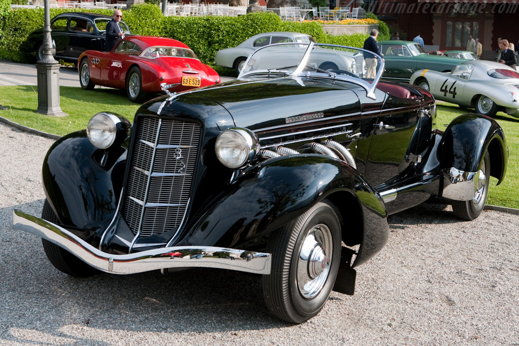 1936 Auburn 852 SC Speedster - Images, Specifications and ...