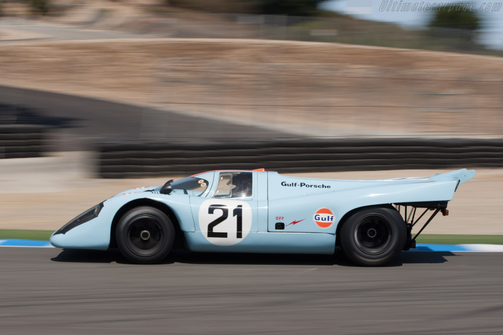 Porsche 917 K - Chassis: 917-016   - 2009 Monterey Historic Automobile Races