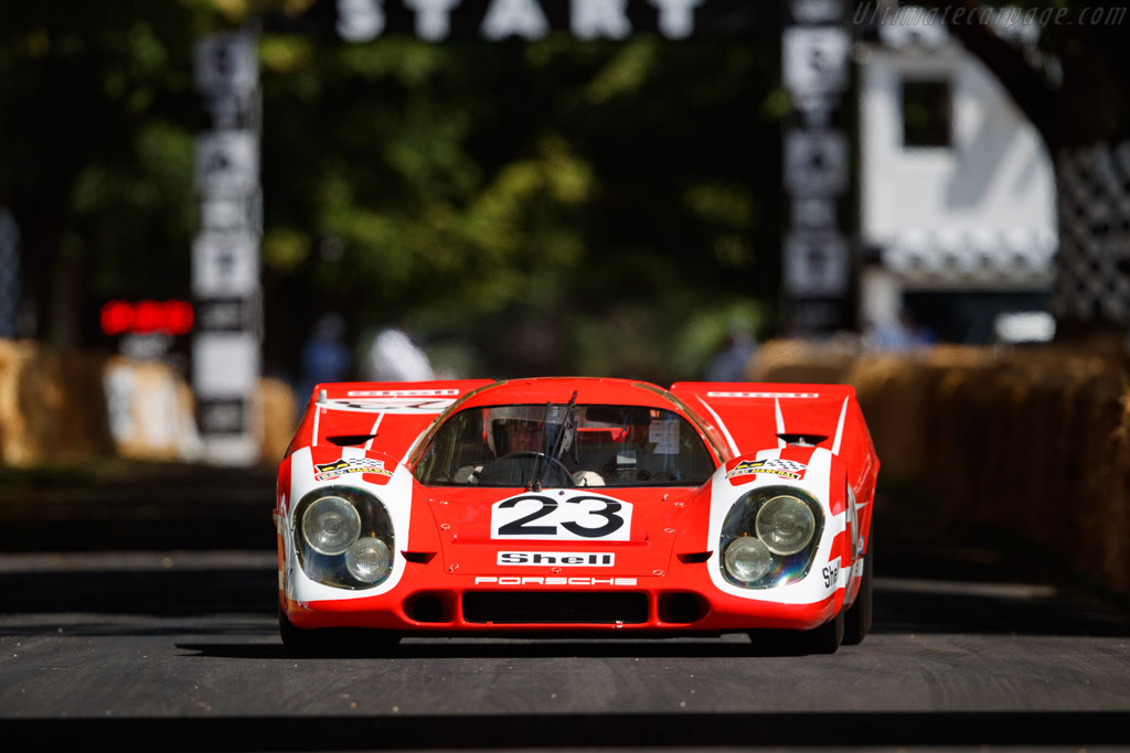 Porsche 917 K - Chassis: 917-023 - Driver: Richard Attwood - 2019 Goodwood Festival of Speed