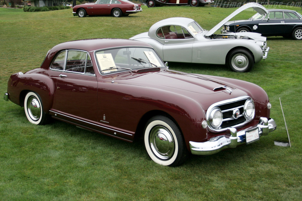 Mazda New Coupe >> 1953 - 1954 Nash-Healey Pinin Farina Coupe - Images, Specifications and Information