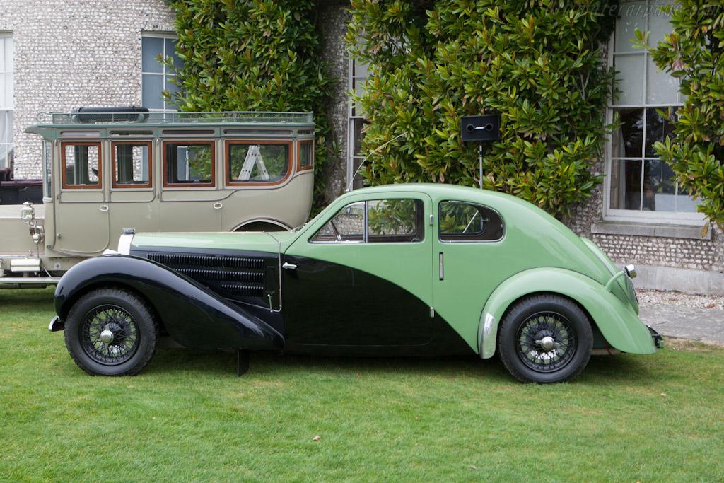 Bugatti Type 57 C Coup 233 Aerodynamique Chassis 57335