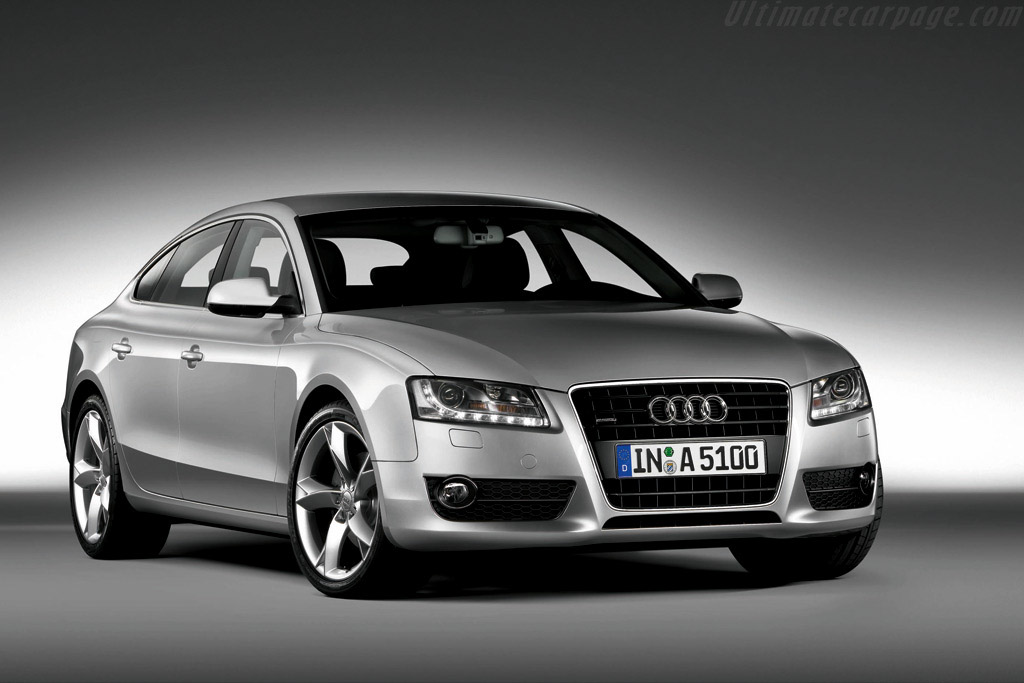 Click here to open the Audi A5 Sportback gallery