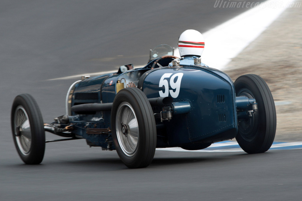 Bugatti Type 59 Grand Prix - Chassis: BC 159   - 2007 Monterey Historic Automobile Races