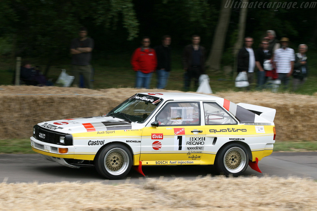 Audi Sport Quattro Group B    - 2007 Goodwood Festival of Speed