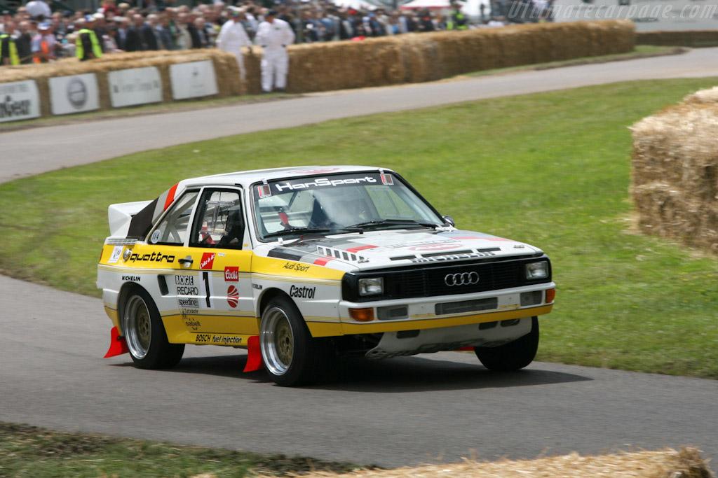 Audi Sport Quattro Group B    - 2007 Goodwood Festival of Speed