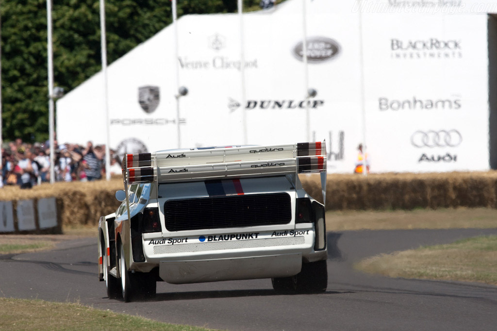 Audi Sport Quattro S1 'Pikes Peak' - Chassis: 85ZGA905020   - 2009 Goodwood Festival of Speed