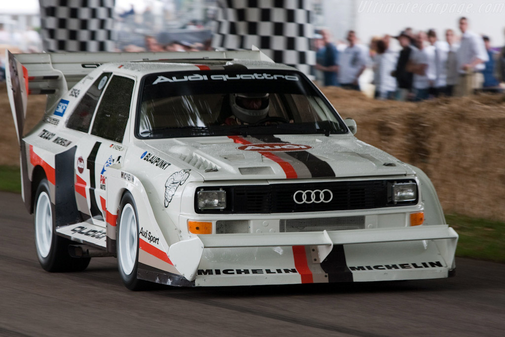 audi sport quattro s1 39 pikes peak 39 chassis 85zga905020 2009 goodwood festival of speed. Black Bedroom Furniture Sets. Home Design Ideas