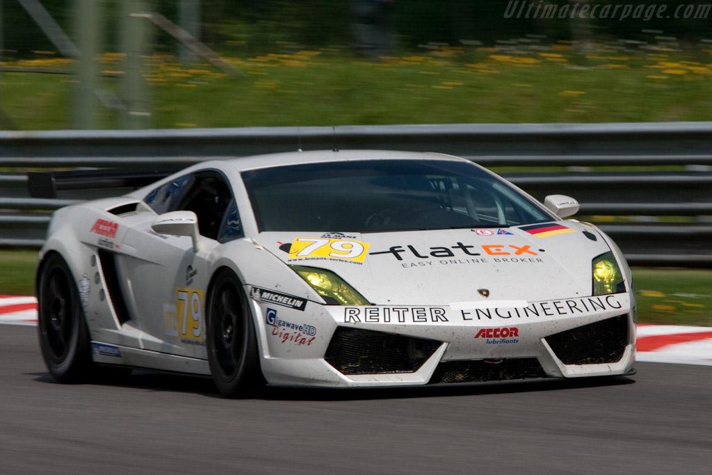 Lamborghini Gallardo LP560 GT2 - Chassis: LA07030  - 2009 Le Mans Series Spa 1000 km