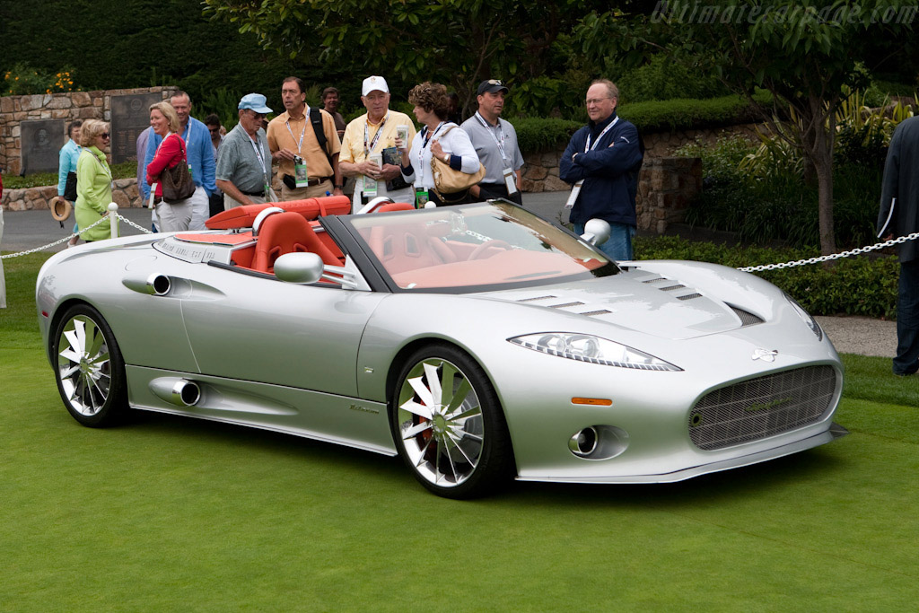 Click here to open the Spyker C8 Aileron Spyder gallery