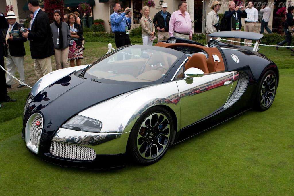 Bugatti Veyron 16.4 Grand Sport Sang Bleu    - 2009 Pebble Beach Concours d'Elegance