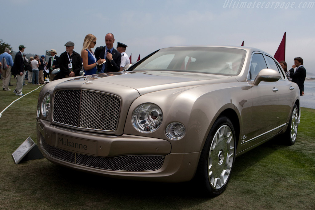 Click here to open the Bentley Mulsanne gallery