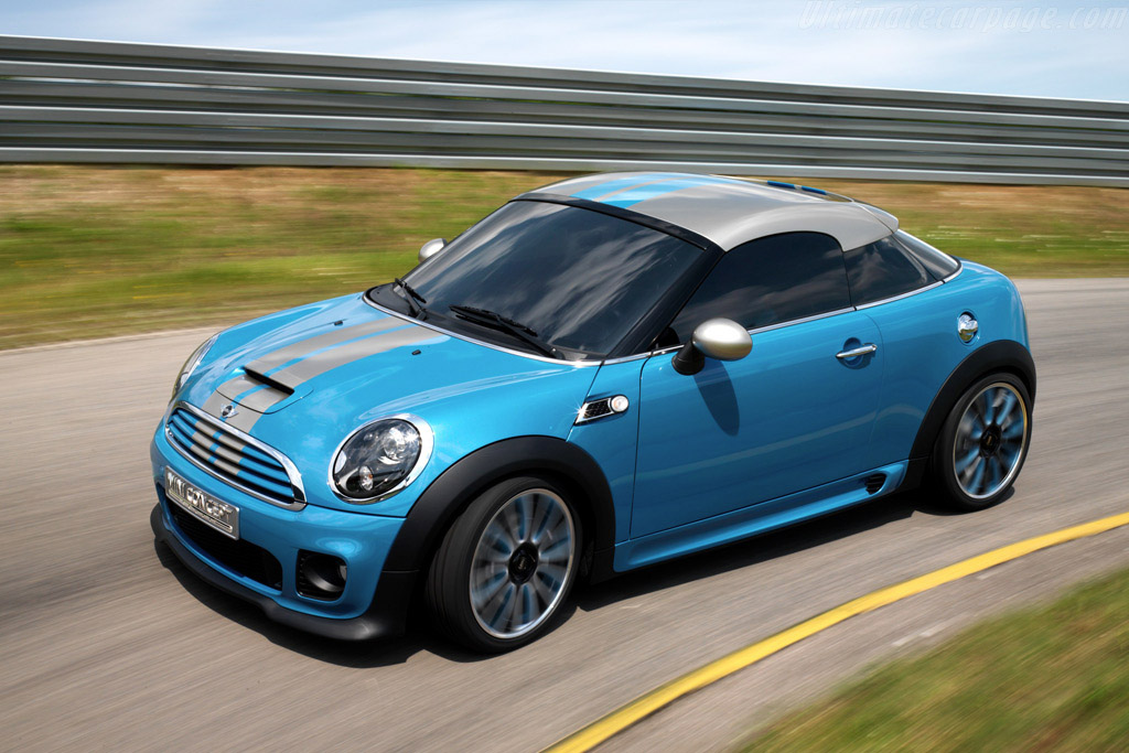 Click here to open the MINI Coupe Concept gallery