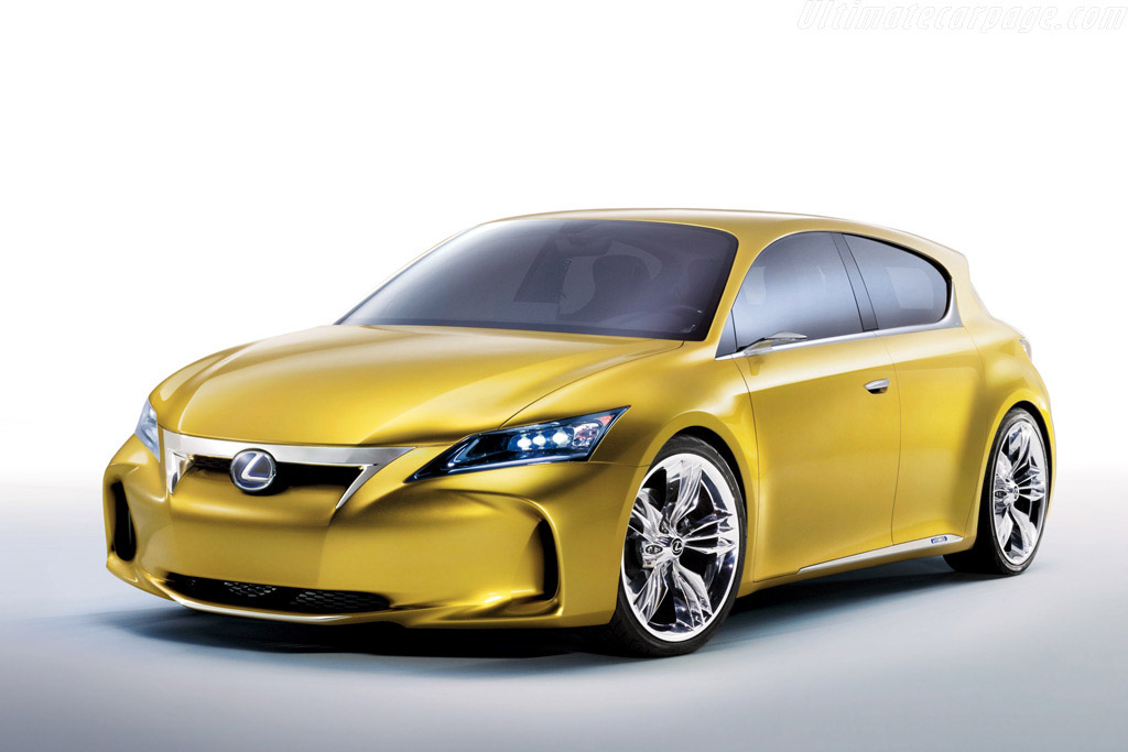 Click here to open the Lexus LF-Ch Concept gallery