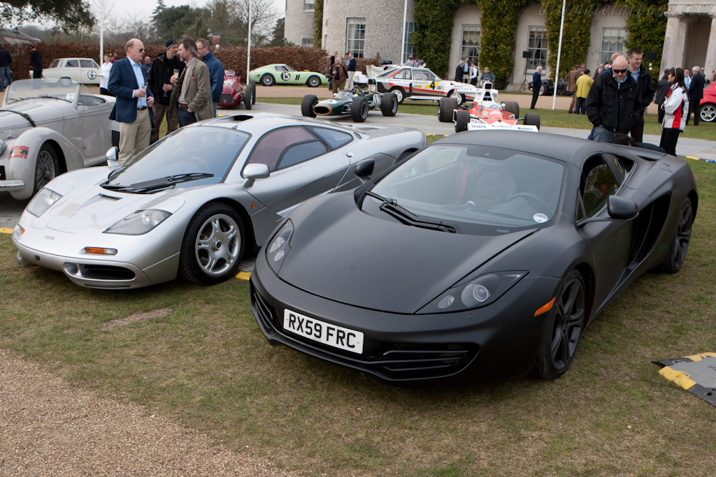McLaren MP4-12C Prototype - Chassis: XP10   - 2010 Goodwood Preview