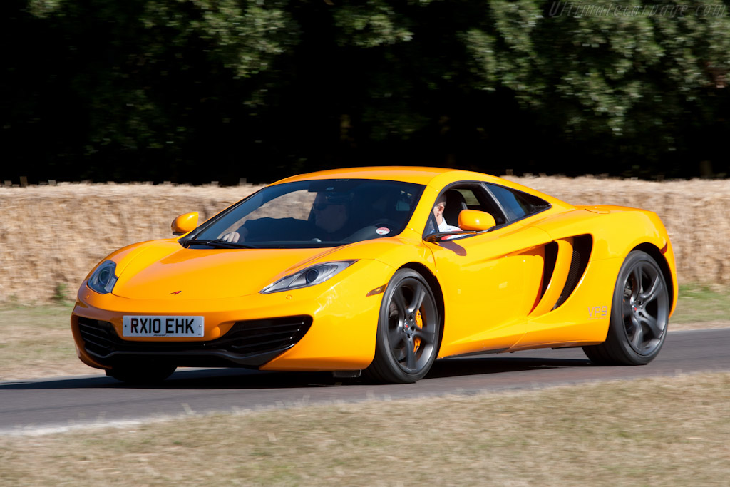 2009 - 2010 mclaren mp4-12c prototype - images, specifications and