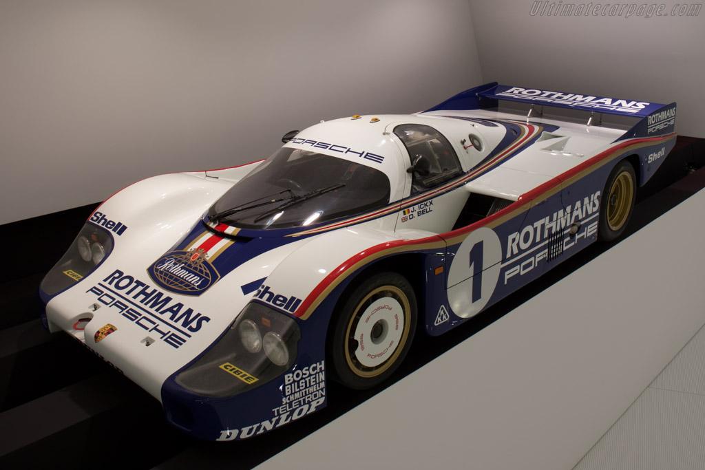 Porsche 956 Chassis 956 002 Porsche Museum Visit High