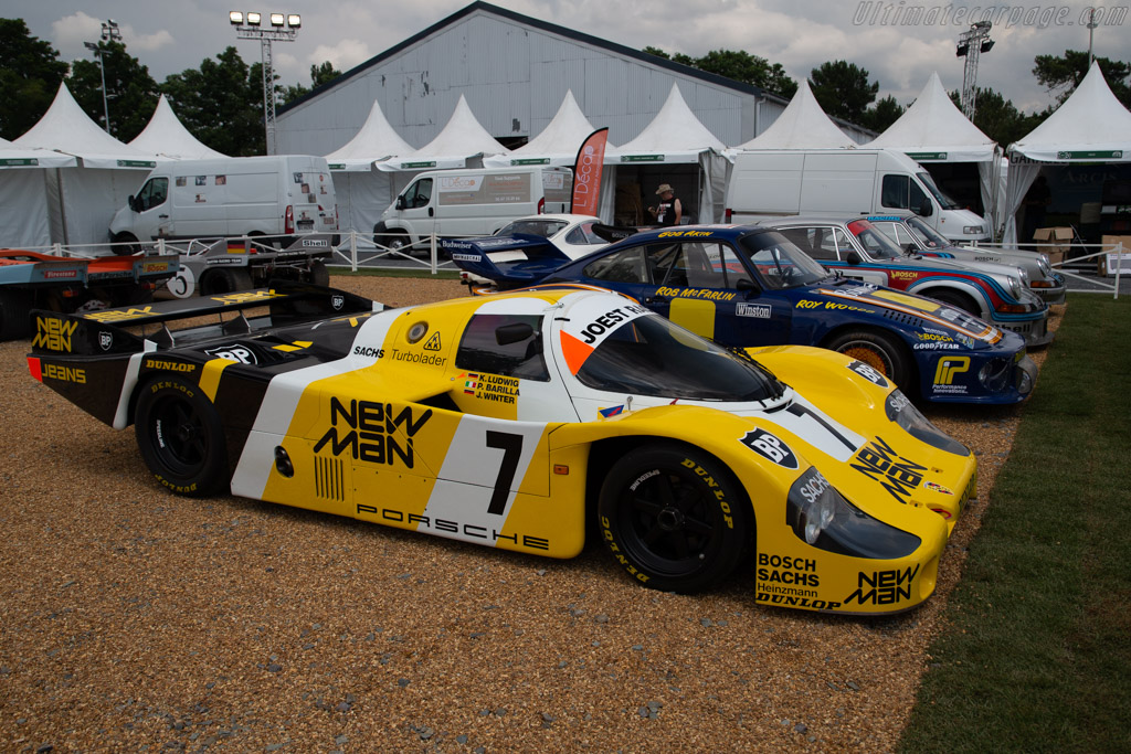Porsche 956 - Chassis: 956-117   - 2018 Le Mans Classic