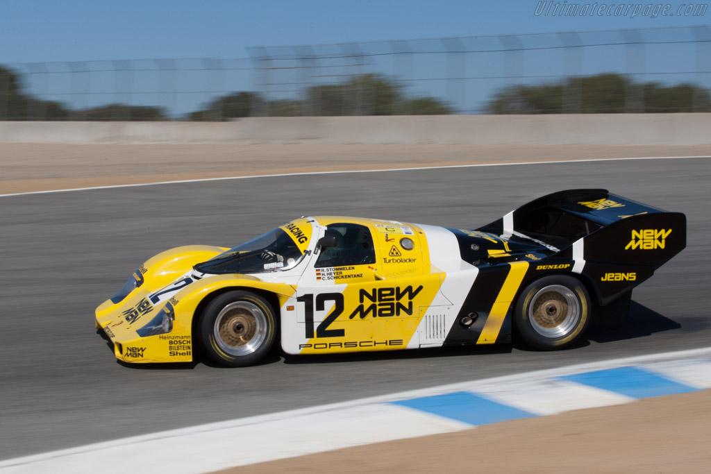 Porsche 956 - Chassis: 956-105  - 2011 Monterey Motorsports Reunion