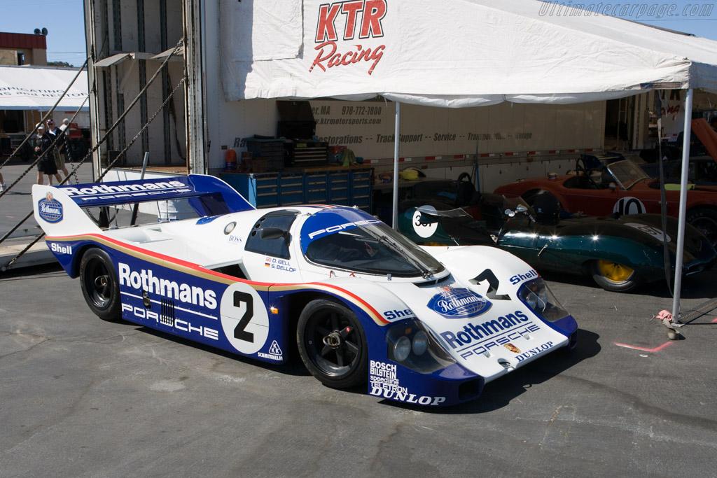 Porsche 956 - Chassis: 956-009  - 2008 Monterey Historic Automobile Races