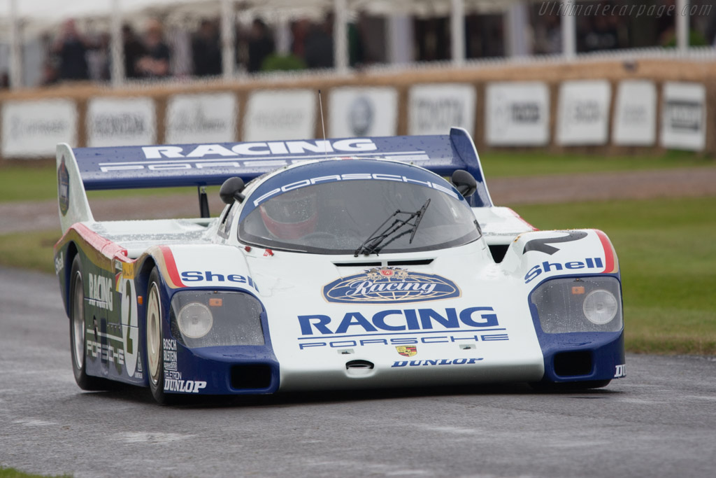 Porsche 956 Chassis 956 007 2012 Goodwood Festival Of
