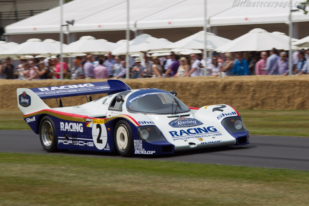 Porsche 956 - Chassis: 956-007  - 2013 Goodwood Festival of Speed