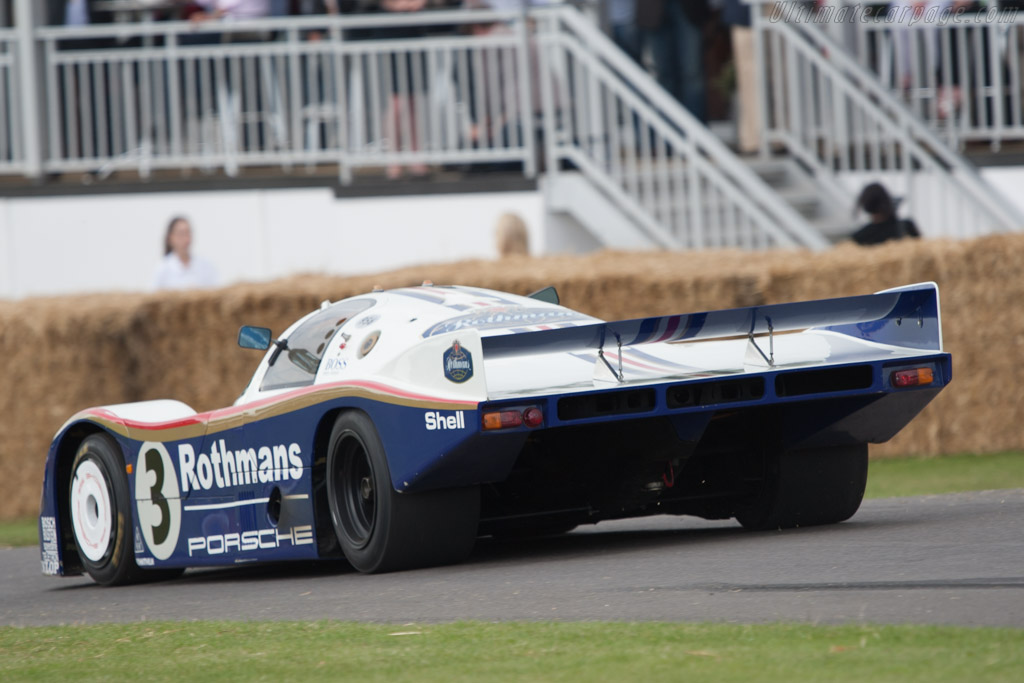Porsche 956 - Chassis: 956-003 - Driver: Derek Bell  - 2011 Goodwood Festival of Speed