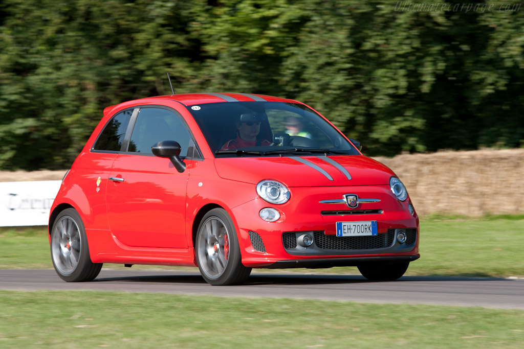 Click here to open the Fiat Abarth 695 Tributo Ferrari gallery