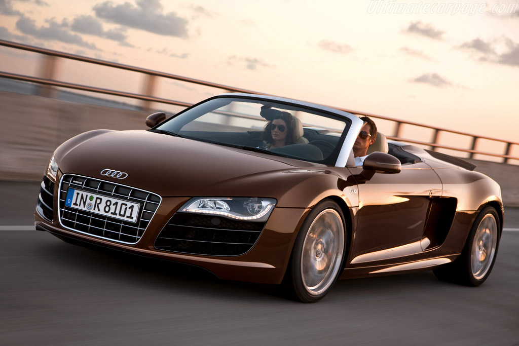 Click here to open the Audi R8 Spyder gallery