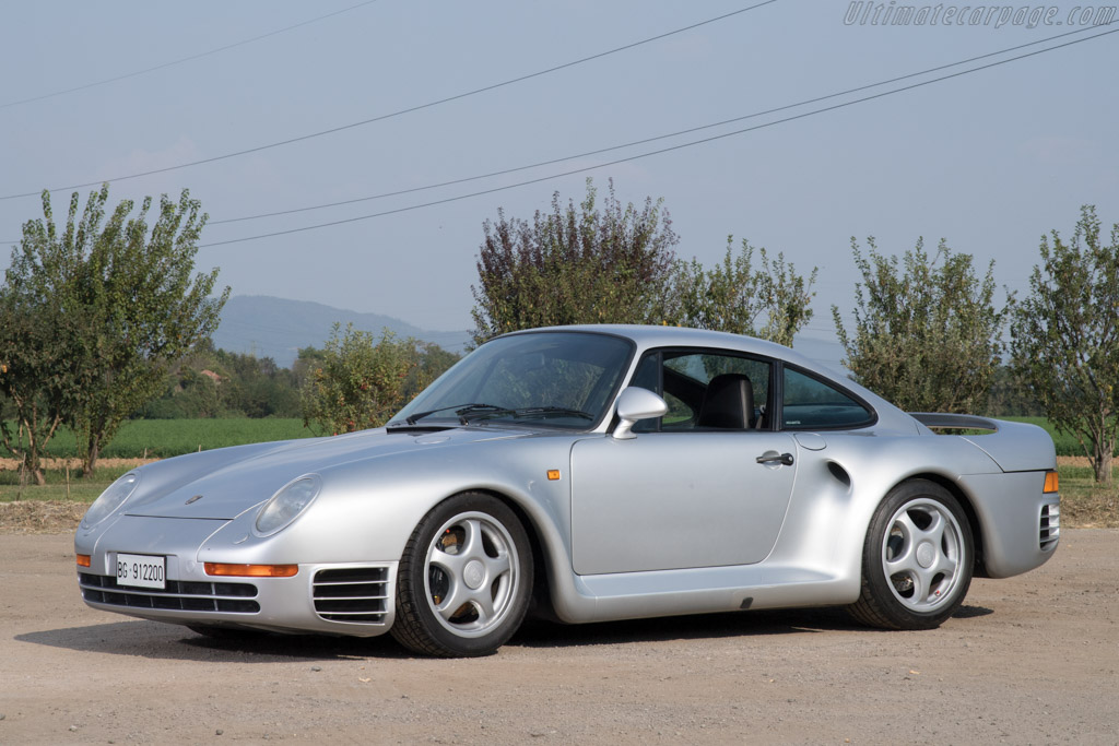 1986 1988 Porsche 959 Images Specifications And