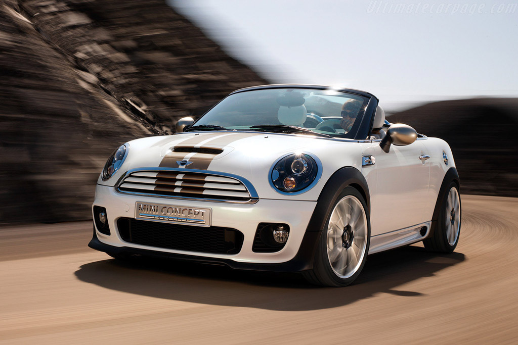 Click here to open the MINI Roadster Concept gallery