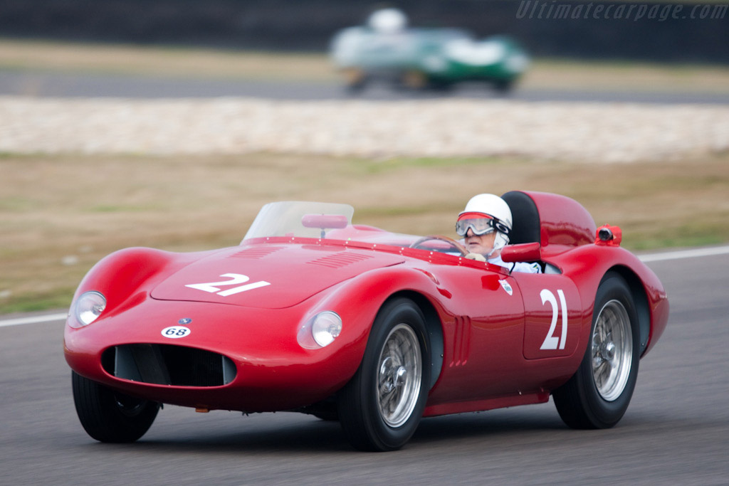 OSCA FS 372 Morelli Spider - Chassis: 1191 FS - Driver: Stirling Moss  - 2009 Goodwood Revival