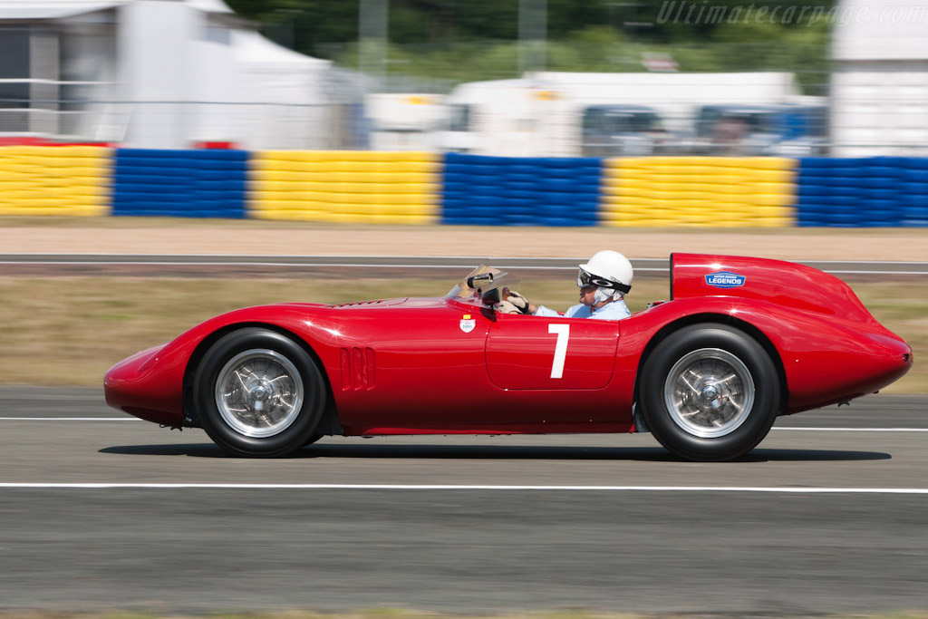 OSCA FS 372 Morelli Spider - Chassis: 1191 FS - Driver: Stirling Moss  - 2009 24 Hours of Le Mans