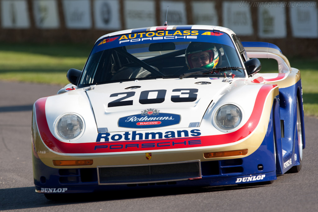 Porsche 961 - Chassis: 10016   - 2011 Goodwood Festival of Speed