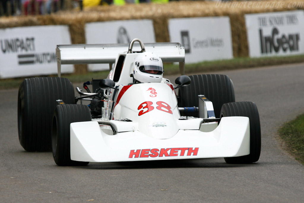 Hesketh 308C Cosworth - Chassis: 308C/2   - 2007 Goodwood Festival of Speed